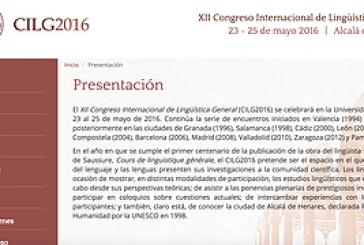 XII Congreso Internacional de  Lingüística General