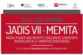 JADIS VII · MEMITA: MEDIA, POWER AND IDENTITY: DISCURSIVE STRATEGIES IN IDEOLOGICALLY-ORIENTED DISCOURSES