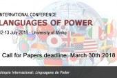 CONGRESSO INTERNAZIONALE – «Linguagens de Poder»